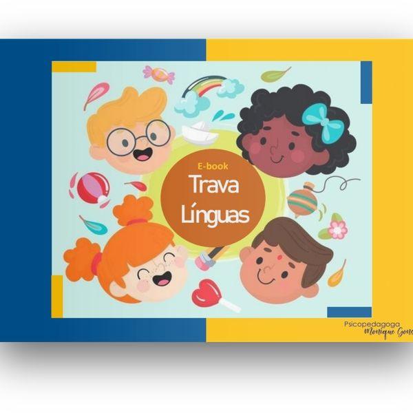 Imagem principal do produto E-book Trava Línguas - Psico Monique Gonçalves