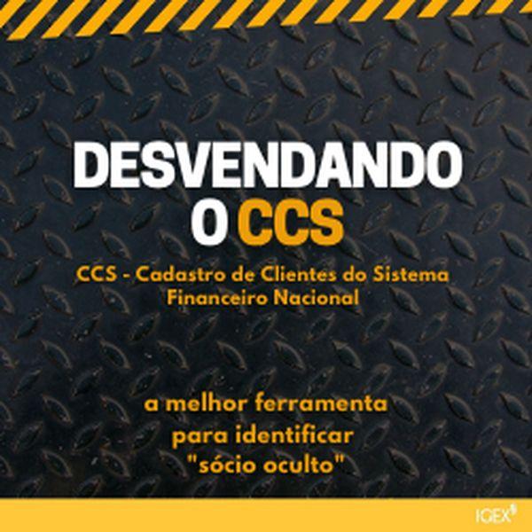 Imagem principal do produto DESVENDANDO O CCS