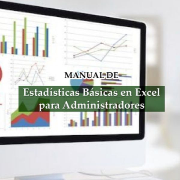Imagem principal do produto Estadística Básica en Excel para Administradores