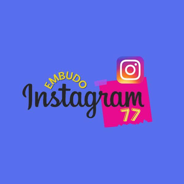 Imagem principal do produto Embudo Instagram 77