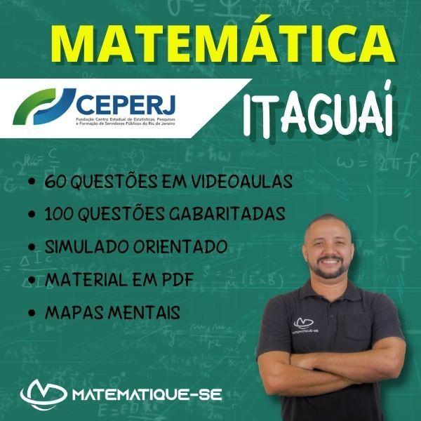 Imagem principal do produto MATEMÁTICA PARA ITAGUAÍ