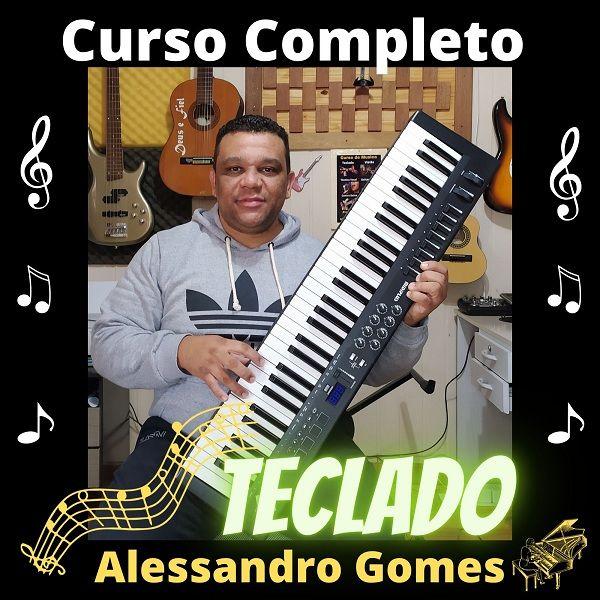 Imagem principal do produto CURSO COMPLETO DE TECLADO