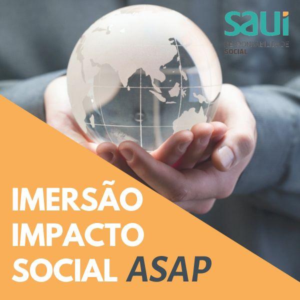 Imagem principal do produto Imersão Impacto Social ASAP