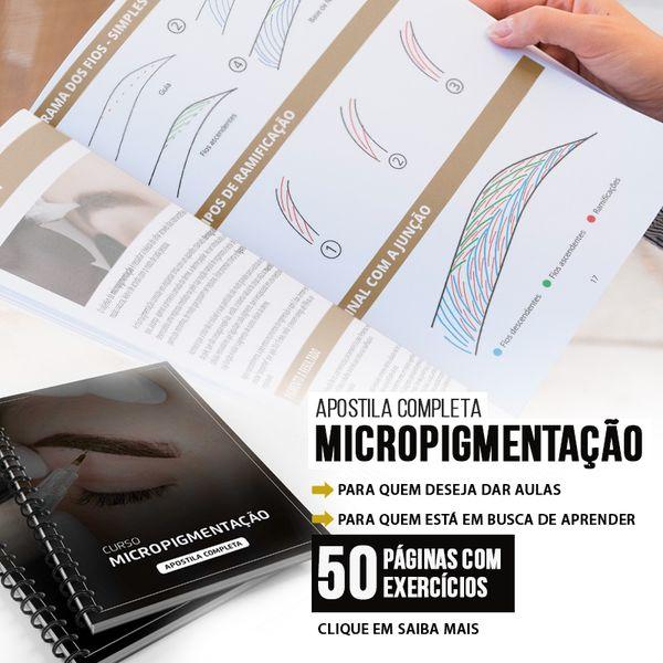 Imagem principal do produto APOSTILA DESIGN E MICROPIGMENTAÇÃO