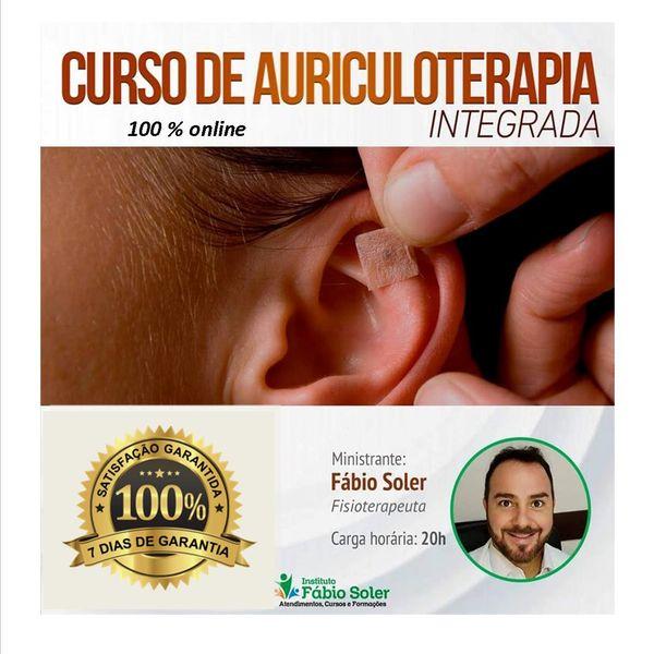 Imagem principal do produto AURICULOTERAPIA INTEGRADA