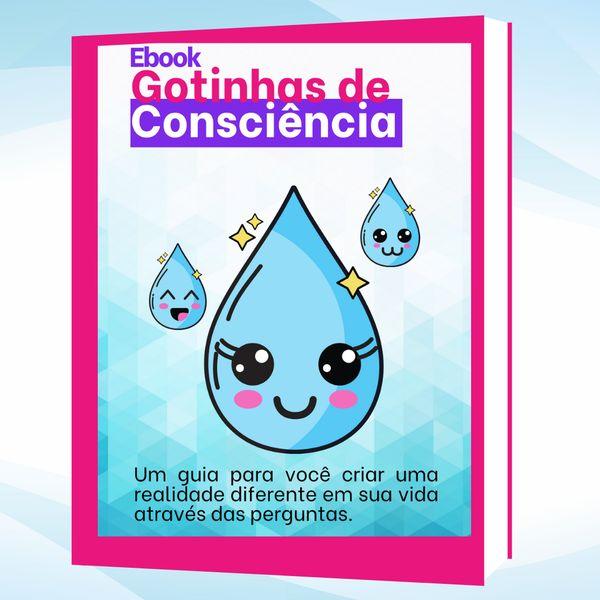Imagem principal do produto Ebook Gotinhas de Consciência