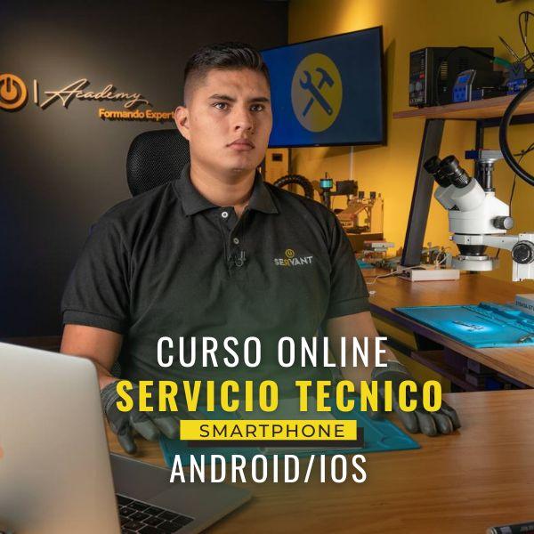 Imagem principal do produto CURSO INICIAL INTENSIVO REPARACIÓN DE SMARPHONE ANDROID/IOS