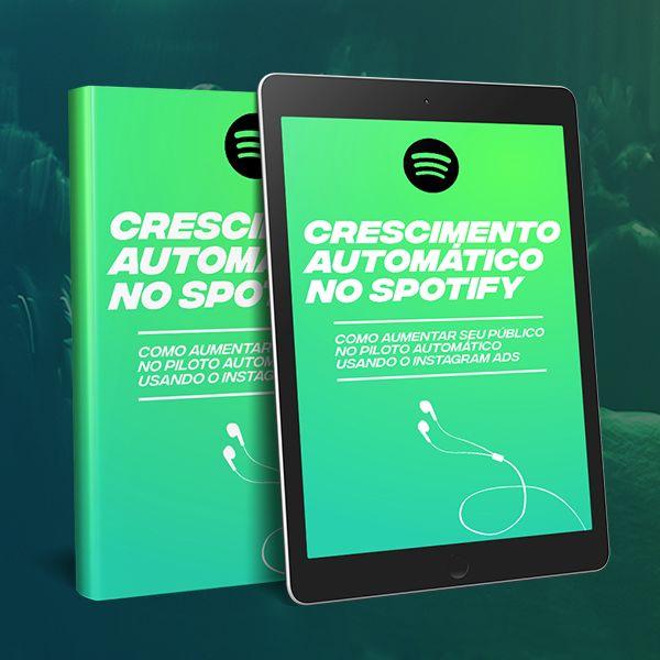 Imagem principal do produto Crescimento Automático no Spotify