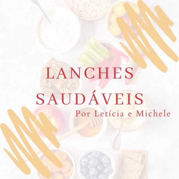 Imagem principal do produto E-book Lanches Saudáveis