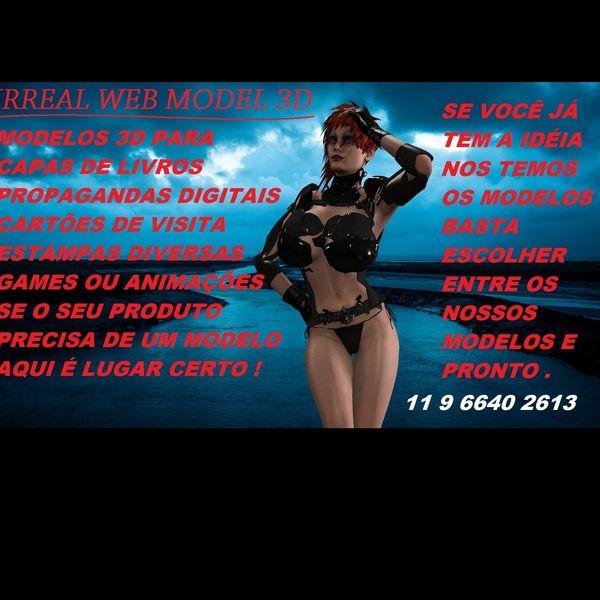 Imagem principal do produto IRREAL WEB MODEL 3D - AGÊNCIA DE MODELOS 3D PARA SUA PROPAGANDA DIGITAL GAME OU ANIMAÇÃO