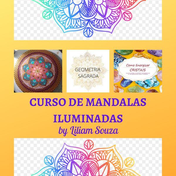 Imagem principal do produto CURSO DE MANDALAS ILUMINADAS