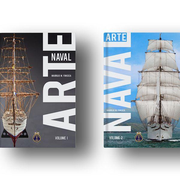 Imagem principal do produto ARTE NAVAL VOL I E II