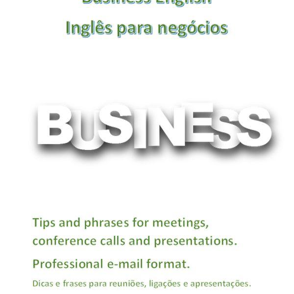 Imagem principal do produto Frases para Business English