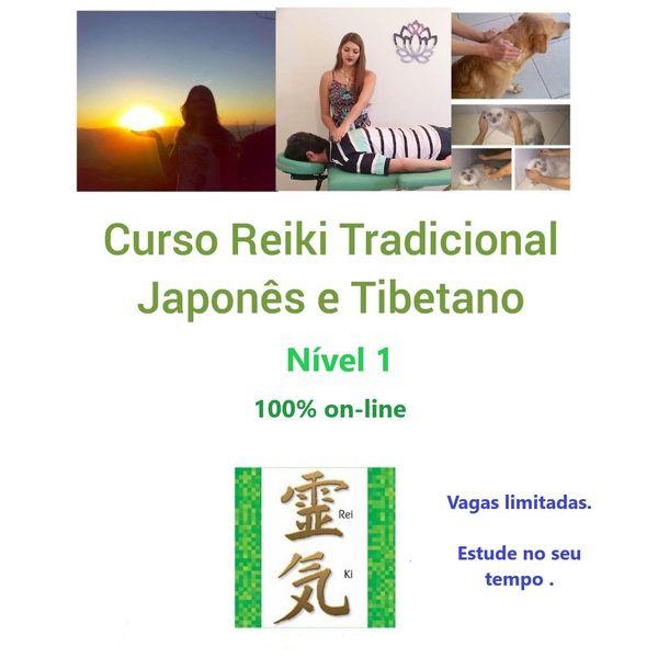 Imagem principal do produto Curso  Reiki I - Reiki Mãos de Luz