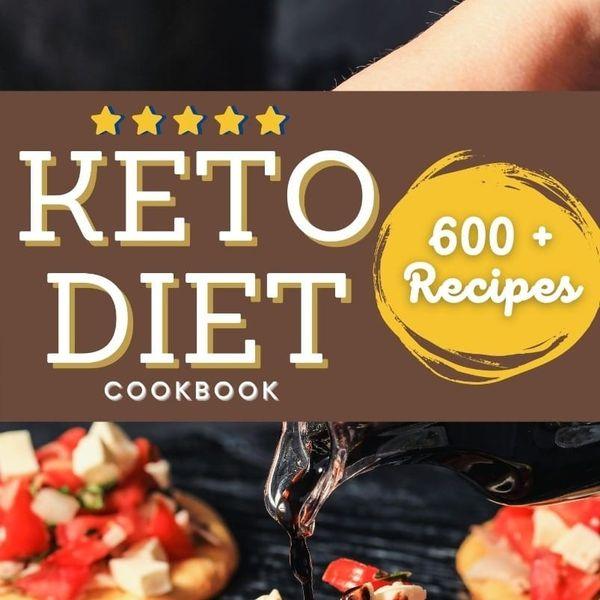 Imagem principal do produto 600 KETO RECIPES