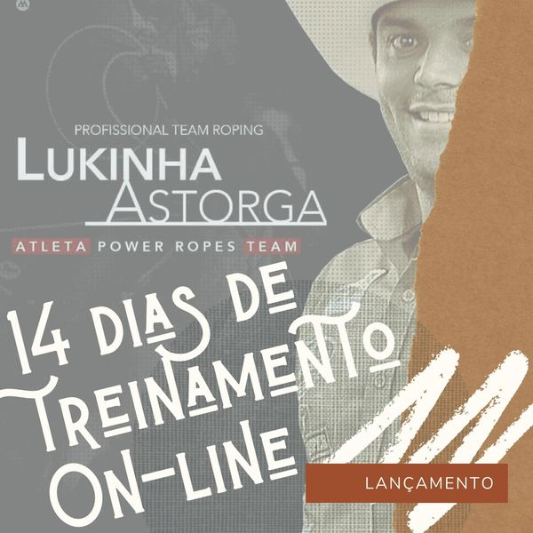Imagem principal do produto 14 DIAS DE TREINAMENTO COM LUKINHA ASTORGA