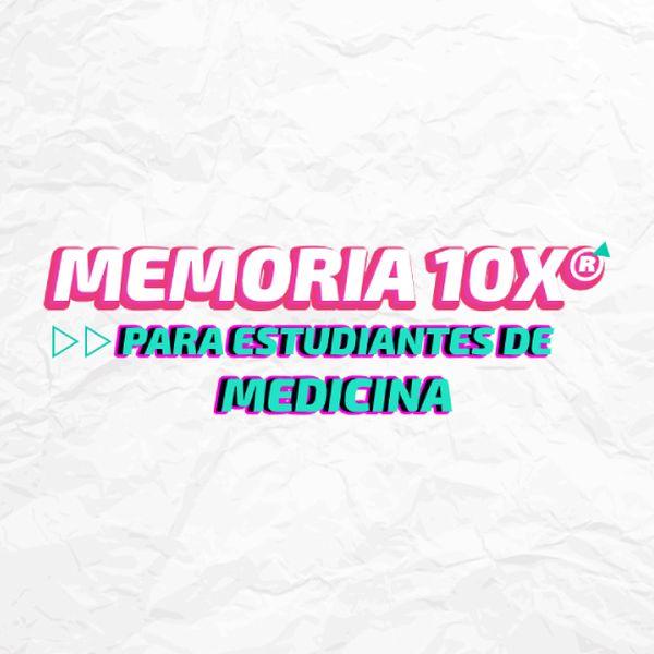 Imagem principal do produto Memória 10X para Estudiantes de Medicina