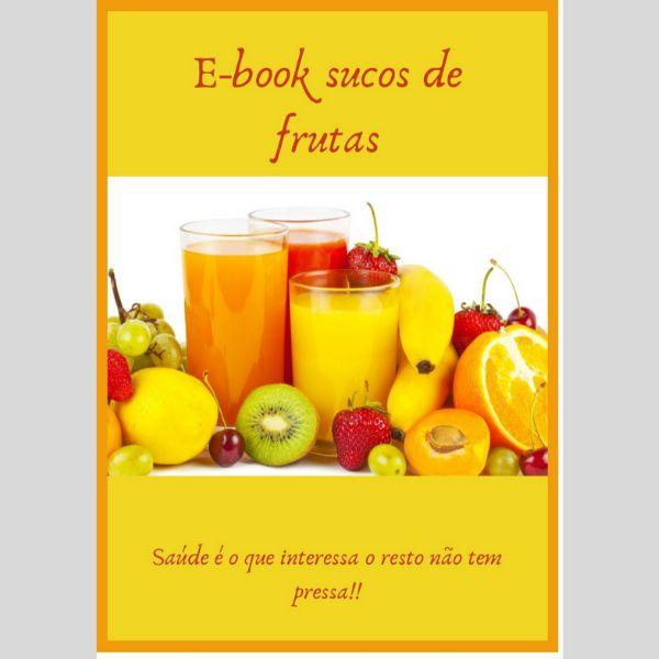 Imagem principal do produto E-book Suco de Frutas