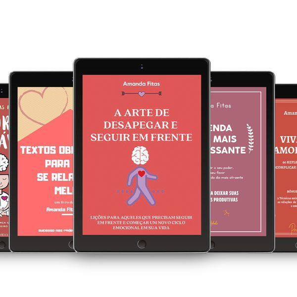 Imagem principal do produto COMBO 5 E-BOOKS - AMANDA FITAS