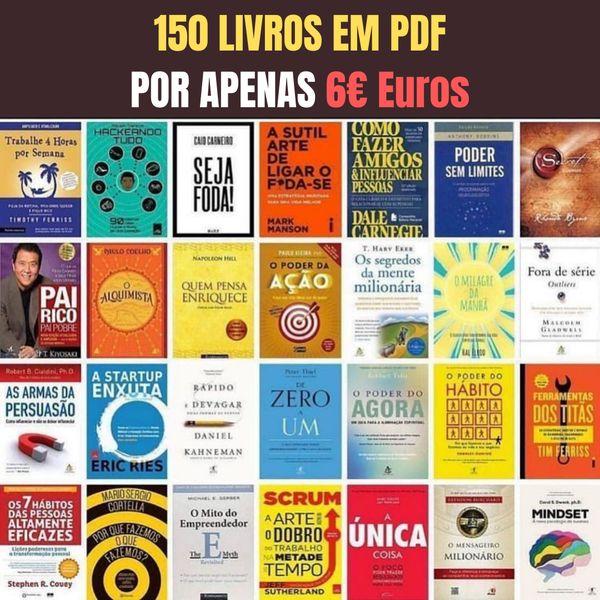 Imagem principal do produto 150 Livros de Empreendedorismo