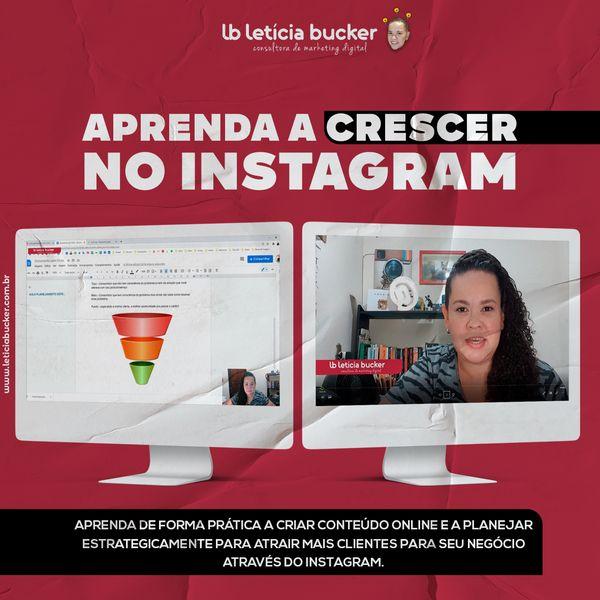 Imagem principal do produto Aula prática de como atrair mais clientes e vender todos os dias com o Instagram.