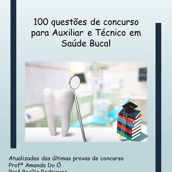 """Imagem principal do produto """"Ebook 100 questões de concurso para TSB"""""""