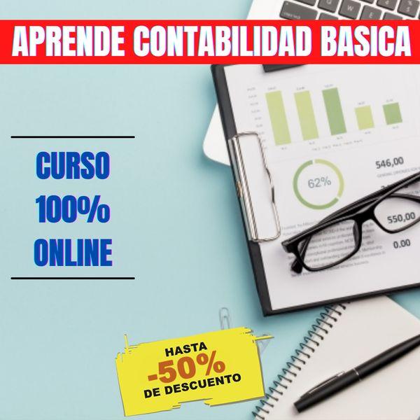 Imagem principal do produto Contabilidad Básica para Principiantes