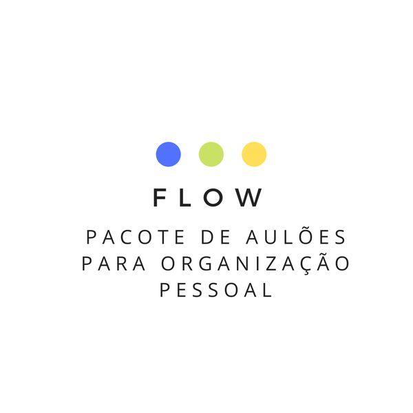 Imagem principal do produto Flow - Pacote de Aulões para Organização Pessoal