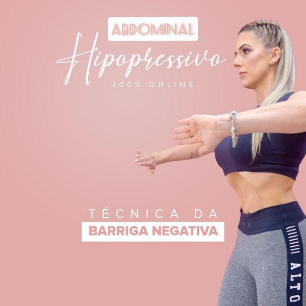 Imagem principal do produto Abdominal Hipopressivo ( Técnica da Barriga Negativa )