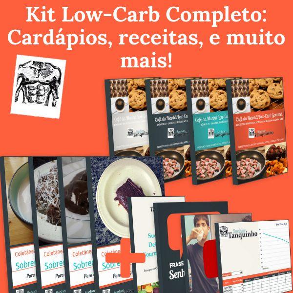 Imagem principal do produto Kit Definitivo Low-Carb / Cetogênico