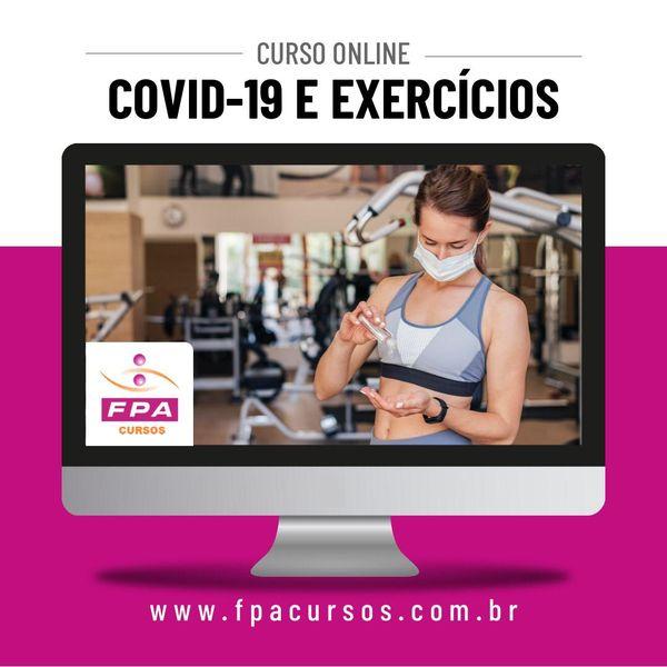 Imagem principal do produto Curso Covid e Exercícios - Me Rodrigo Volga Cref 036273-G/SP