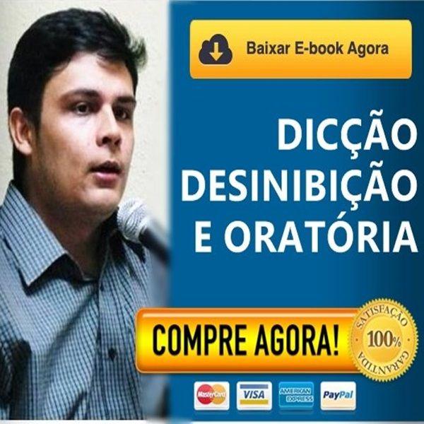 Imagem principal do produto DICÇÃO, DESINIBIÇÃO E ORATÓRIA