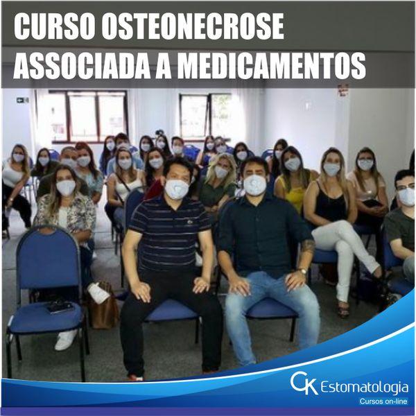 Imagem principal do produto CURSO OSTEONECROSE ASSOCIADA A MEDICAMENTOS | para profissionais e acadêmios de odontologia - Dr. Dárcio Kitakawa e Dr. Luis F. Carvalho