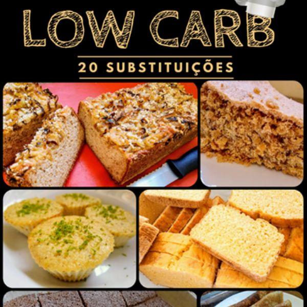 Imagem principal do produto Receitas de Lanches Low Carb