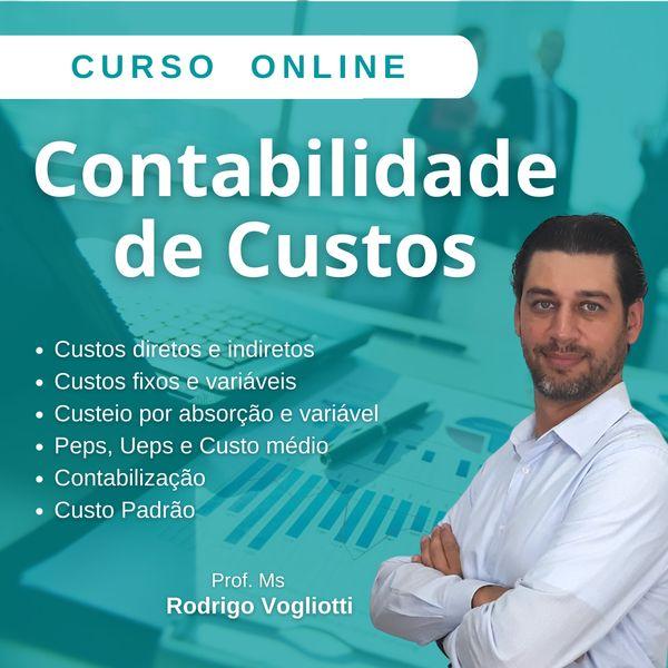 Imagem principal do produto Curso Online Contabilidade de Custos