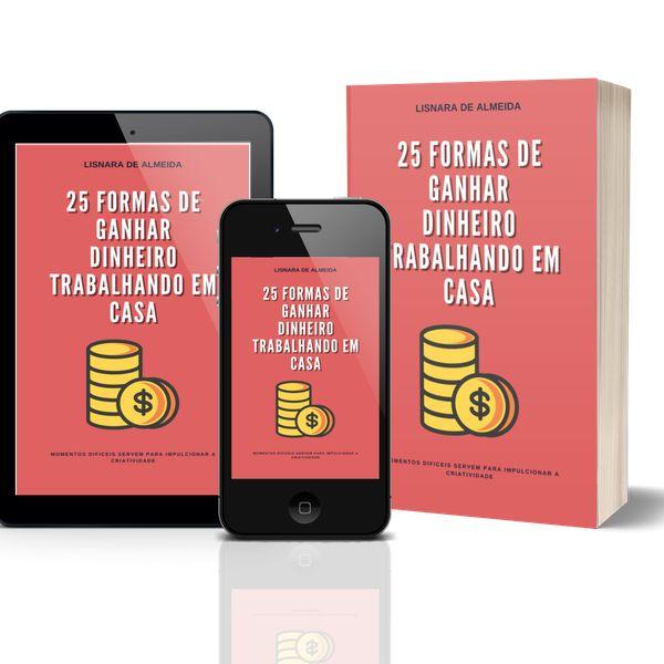 Imagem principal do produto 25 formas de ganhar dinheiro em casa