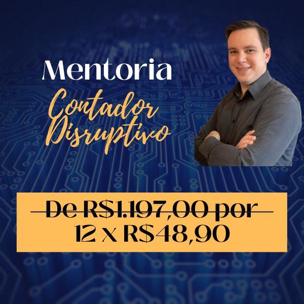 Imagem principal do produto Mentoria Individual - Contador Disruptivo