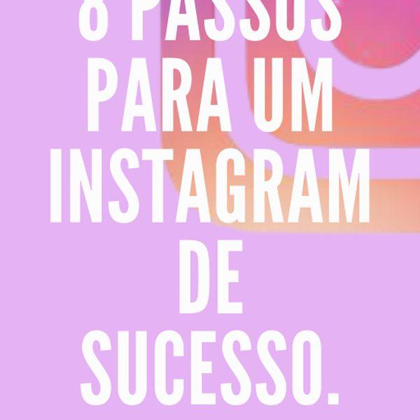 Imagem principal do produto 8 Passos para um Instagram de Sucesso