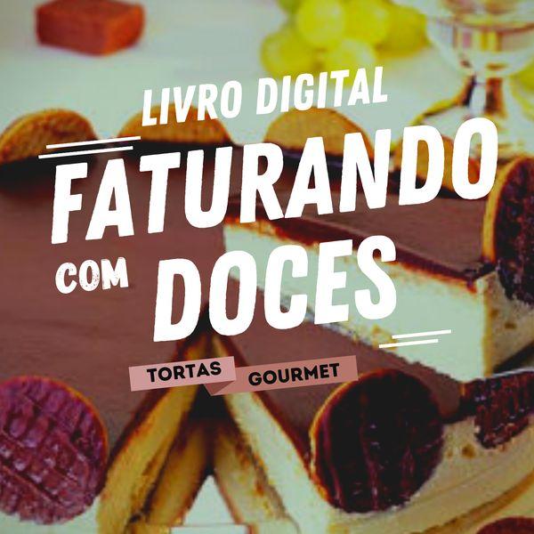 Imagem principal do produto E-book Tortas Gourmet