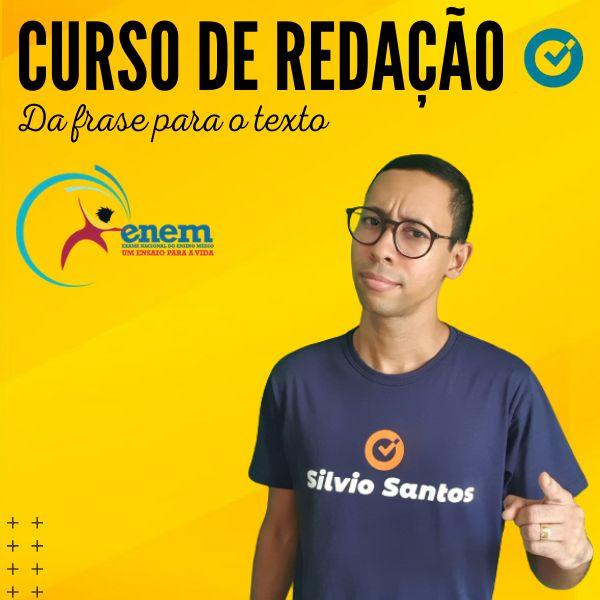 Imagem principal do produto CURSO DE REDAÇÃO - Da frase para o texto - Enem