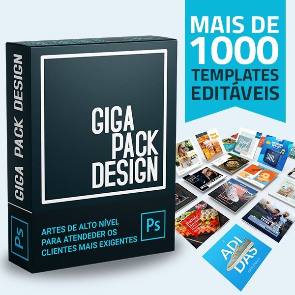 Imagem principal do produto Giga Pack Design