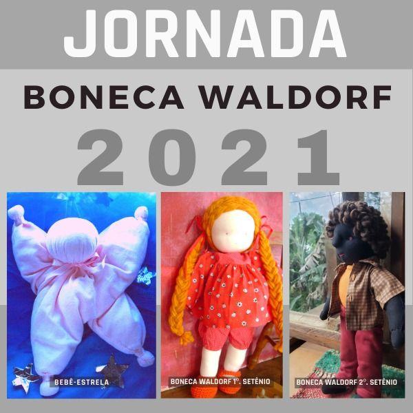 Imagem principal do produto Jornada Boneca Waldorf 2021: do bebê-estrela à boneca articulada