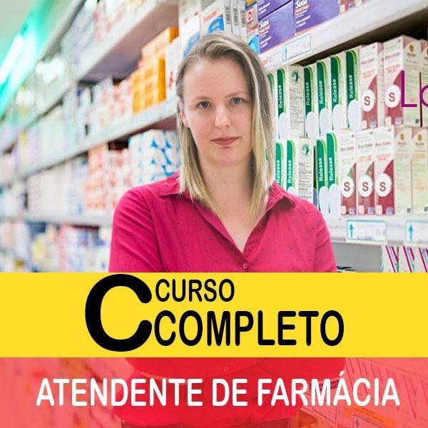 Imagem principal do produto Atendente de farmácia: material completo