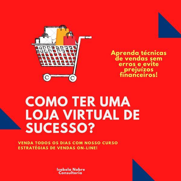Imagem principal do produto Estratégias de Vendas pra Loja Online