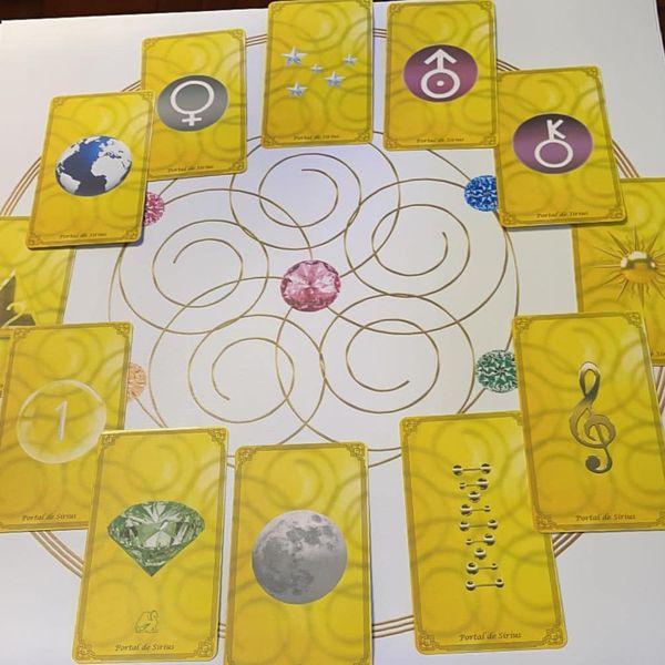 Imagem principal do produto Cards Portal de Sírius - curso