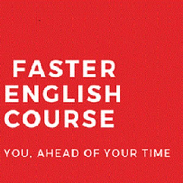 Imagem principal do produto  FASTER ENGLISH COURSE
