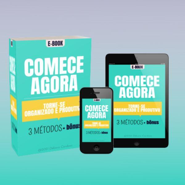 Imagem principal do produto COMECE AGORA! TORNE-SE ORGANIZADO E PRODUTIVO COM 3 METODOS