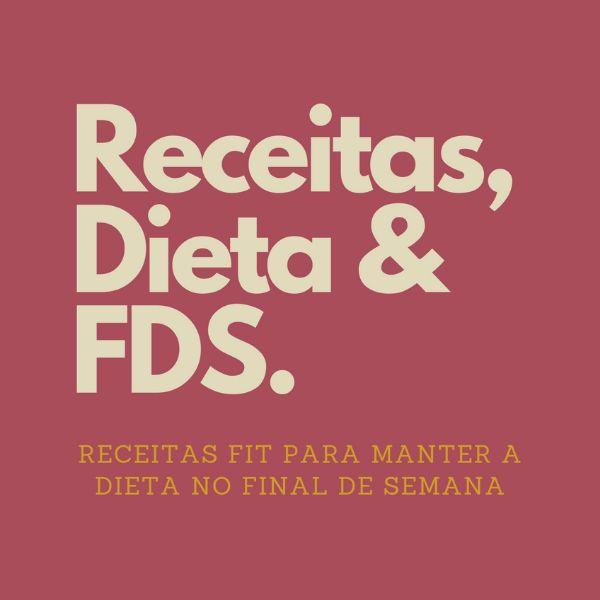 Imagem principal do produto E-BOOK RECEITAS, DIETA & FDS