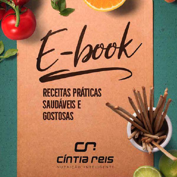 Imagem principal do produto e-Book: Receitas práticas, saudáveis e gostosas
