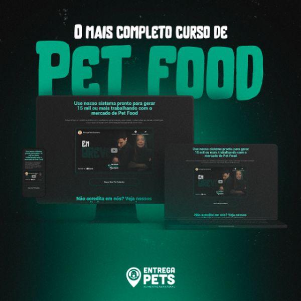 Imagem principal do produto EntregaPets Business - Curso de Pet Food